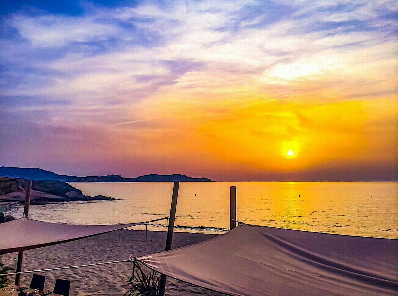 La photo du jour : Soleil couchant sur la Balagne