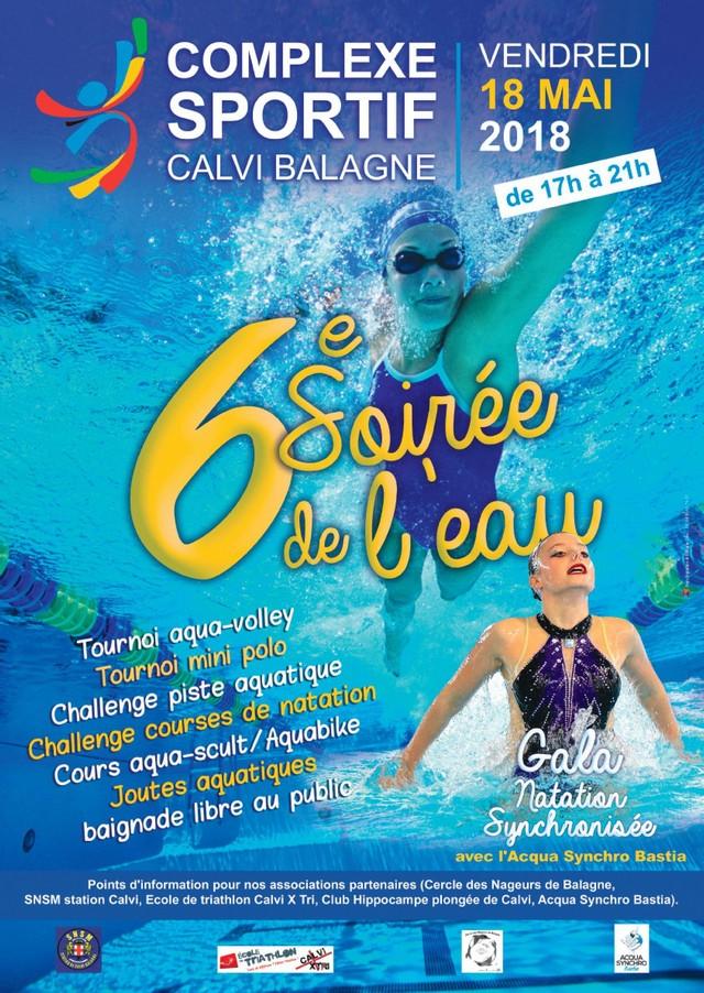6e Soirée de l'eau au complexe sportif Calvi-Balagne