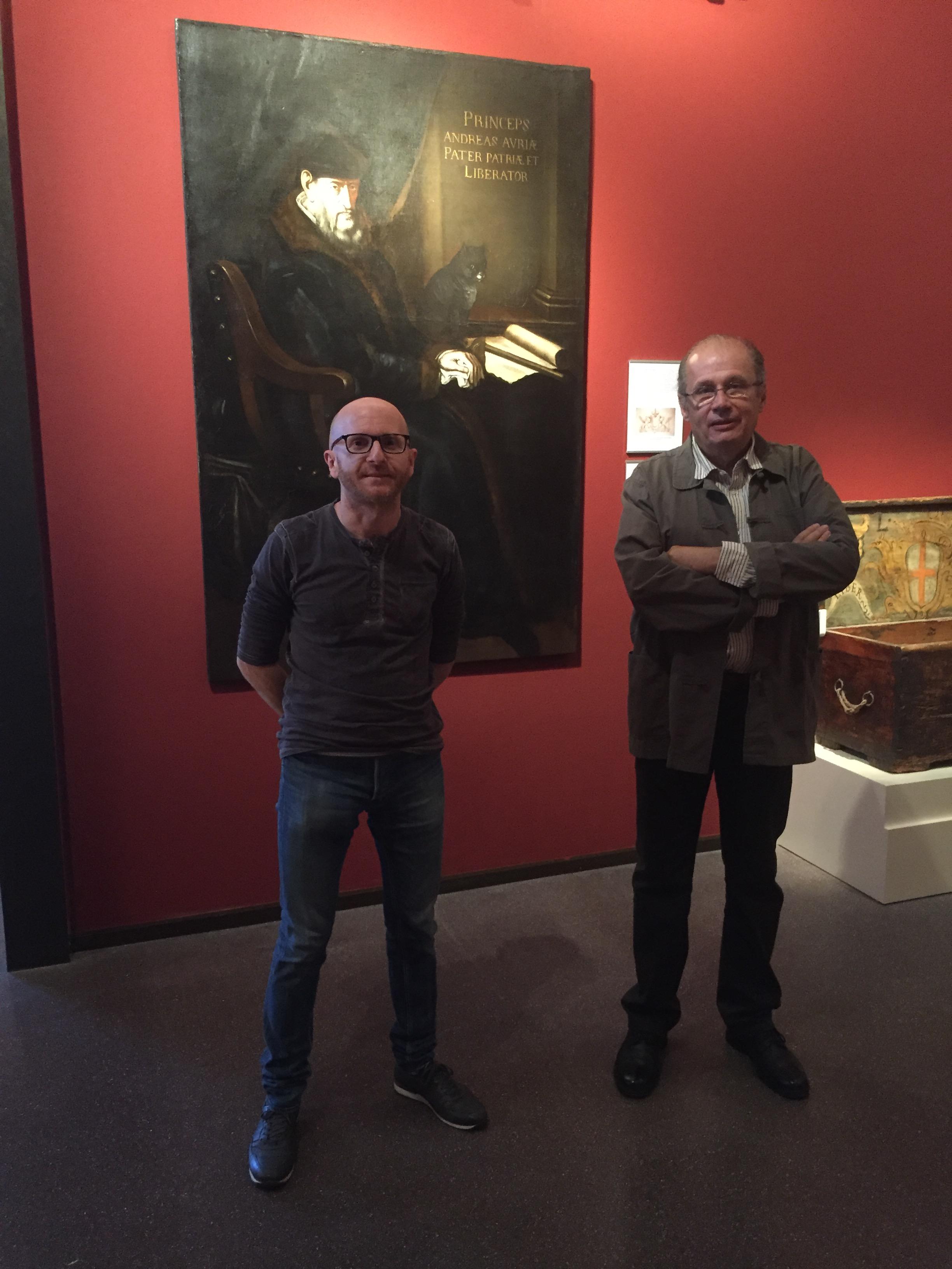 Sylvain Gregori et Philippe Peretti