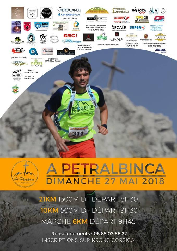A Petralbinca  : En route pour la seconde édition