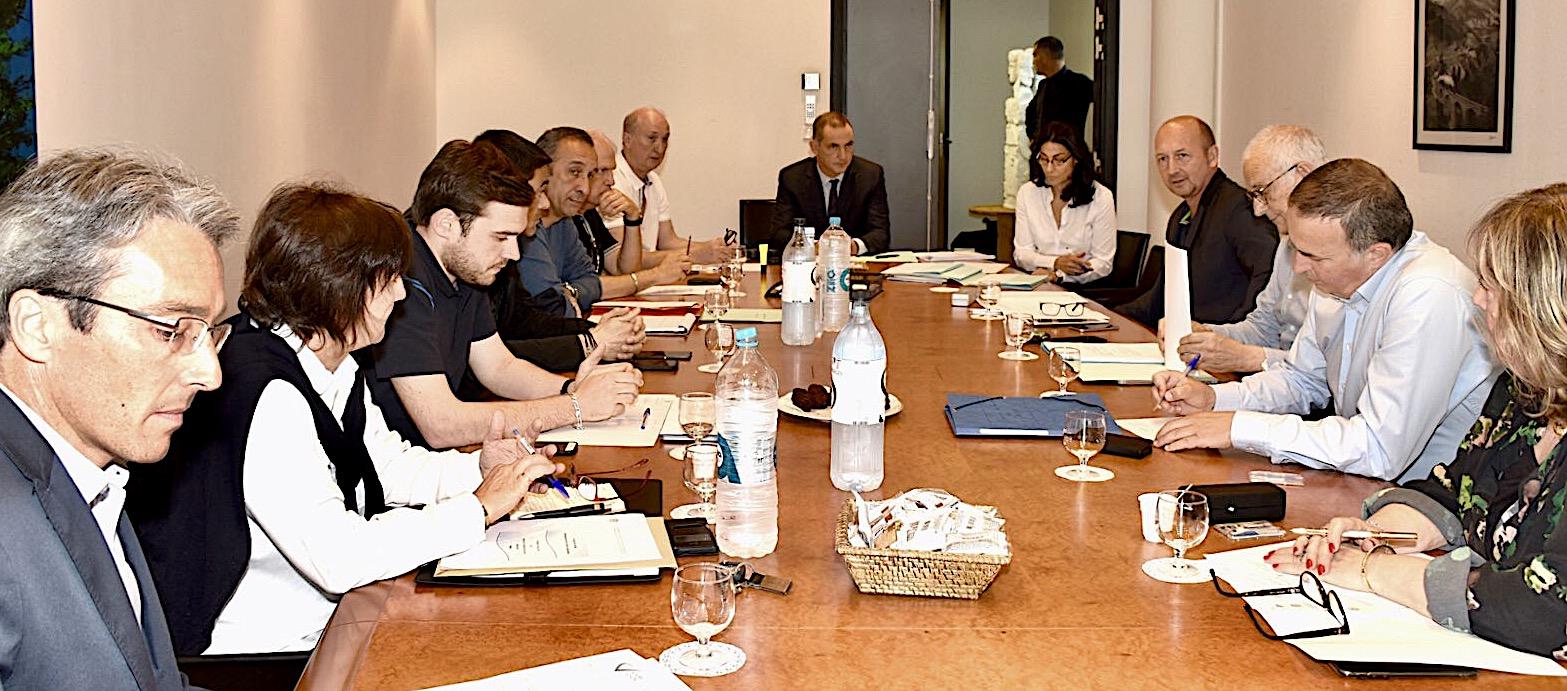 Bastia : Réunions des groupes de travail de la Chambre des territoires