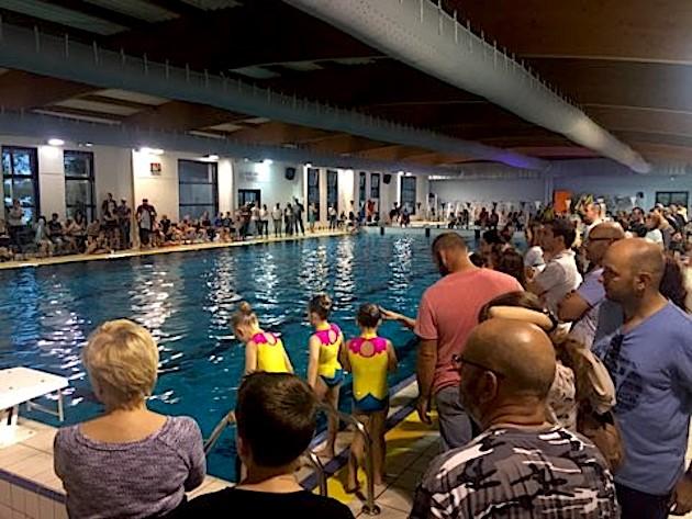 Une soirée de l'eau exceptionnelle au complexe sportif Calvi-Balagne