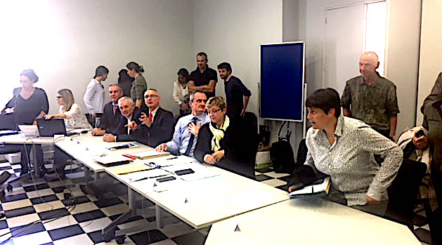 Anne-Laure Santucci, élue présidente du Conseil des rivages : Politique foncière et gestion  au cœur du débat