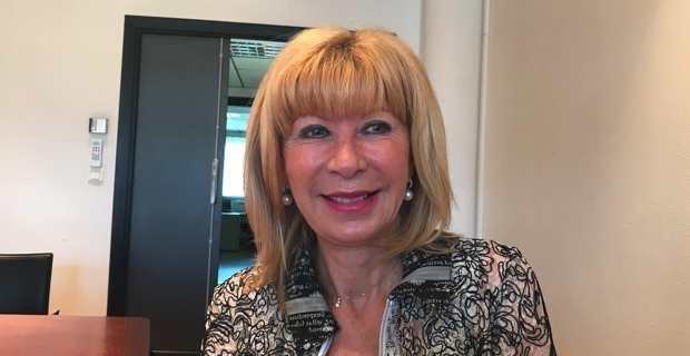 Annette Pieri, conseillère territoriale du groupe de droite de l'Assemblée de Corse, Per l'Avvene.