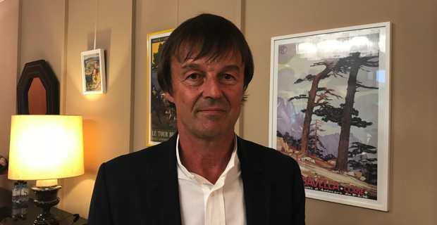 Nicolas Hulot, ministre d'Etat, ministre de la transition écologique et solidaire.