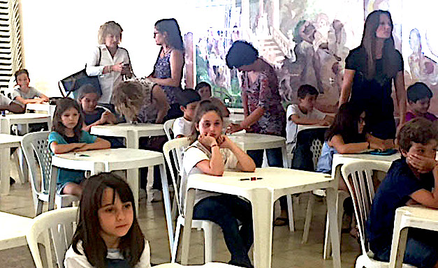 La concentration avant le concours