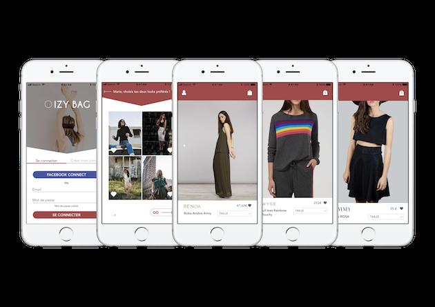 """""""Izy Bag"""", l'application de la start-up corse, déniche des produits de créateurs aux quatre coins du monde"""