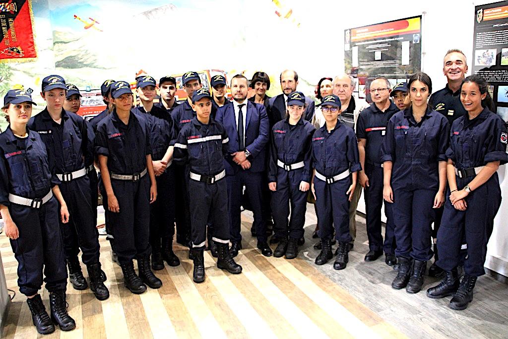 Les cadets de la Sécurité civile officiellement diplômés à l'UIISC 5 de Corte
