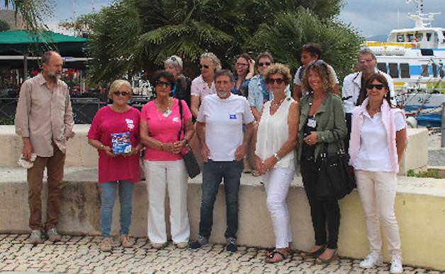 Journée mondiale sans tabac avec la Ligue contre le cancer à Calvi
