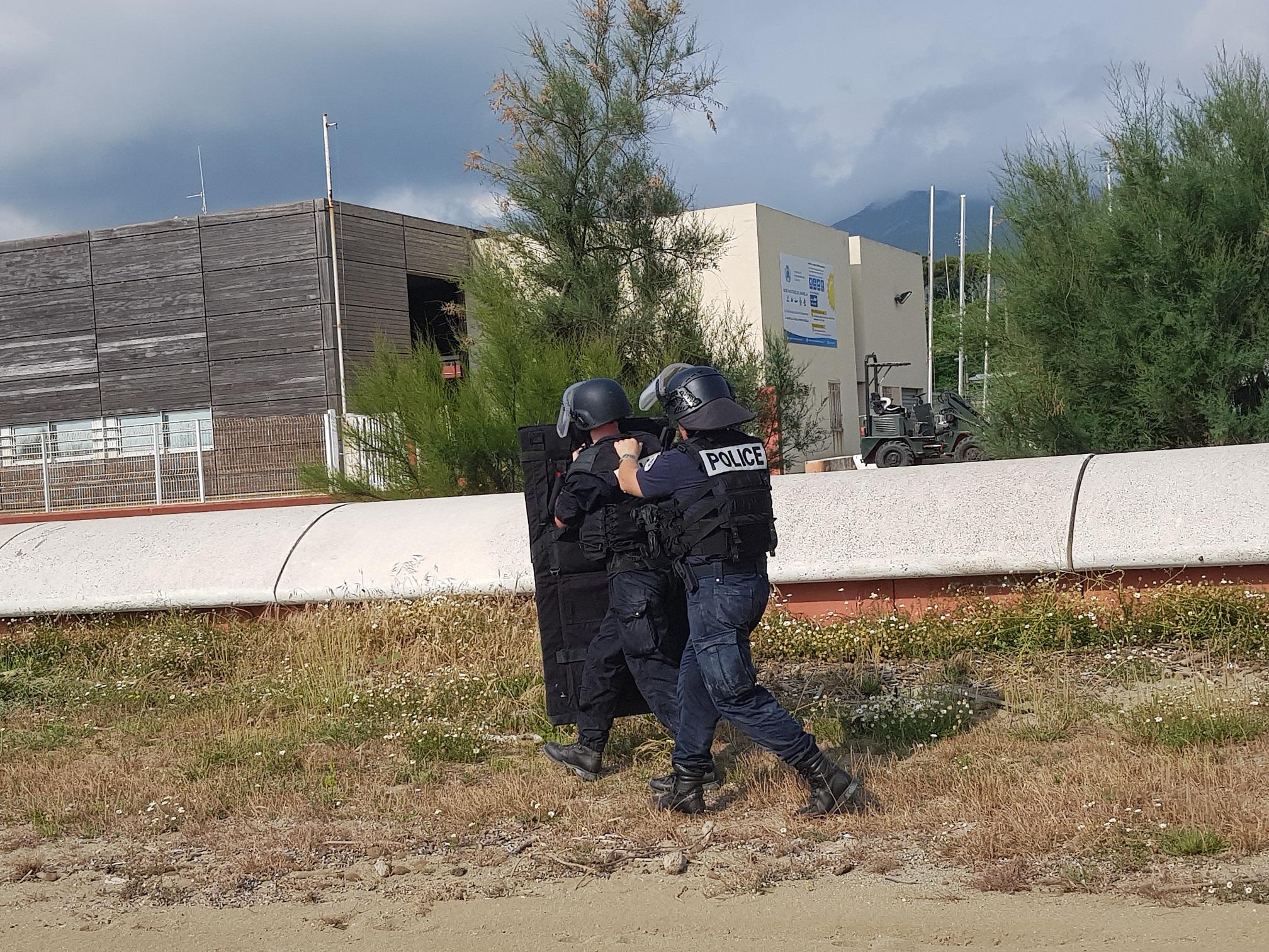 Bastia : Scène de terrorisme à l'Arinella pour… les besoins d'un exercice de sécurité