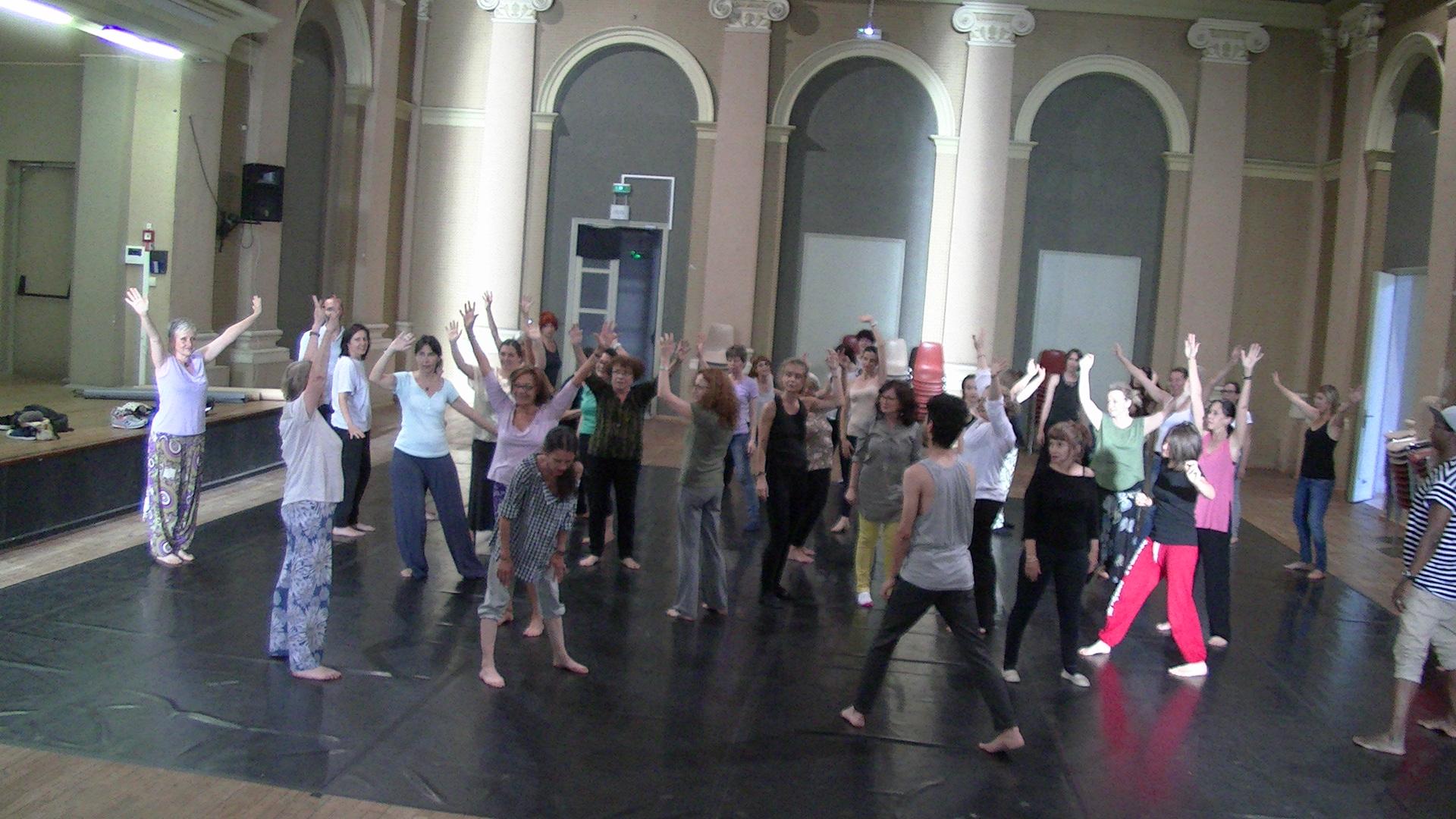 Bastia : Beau succès de  la Danse-thérapie à « Plateforme Danse »