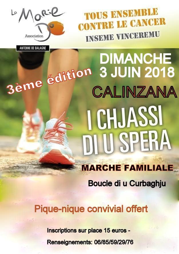 I chjassi di u spera avec la Marie-Do le 3 juin à Calinzana