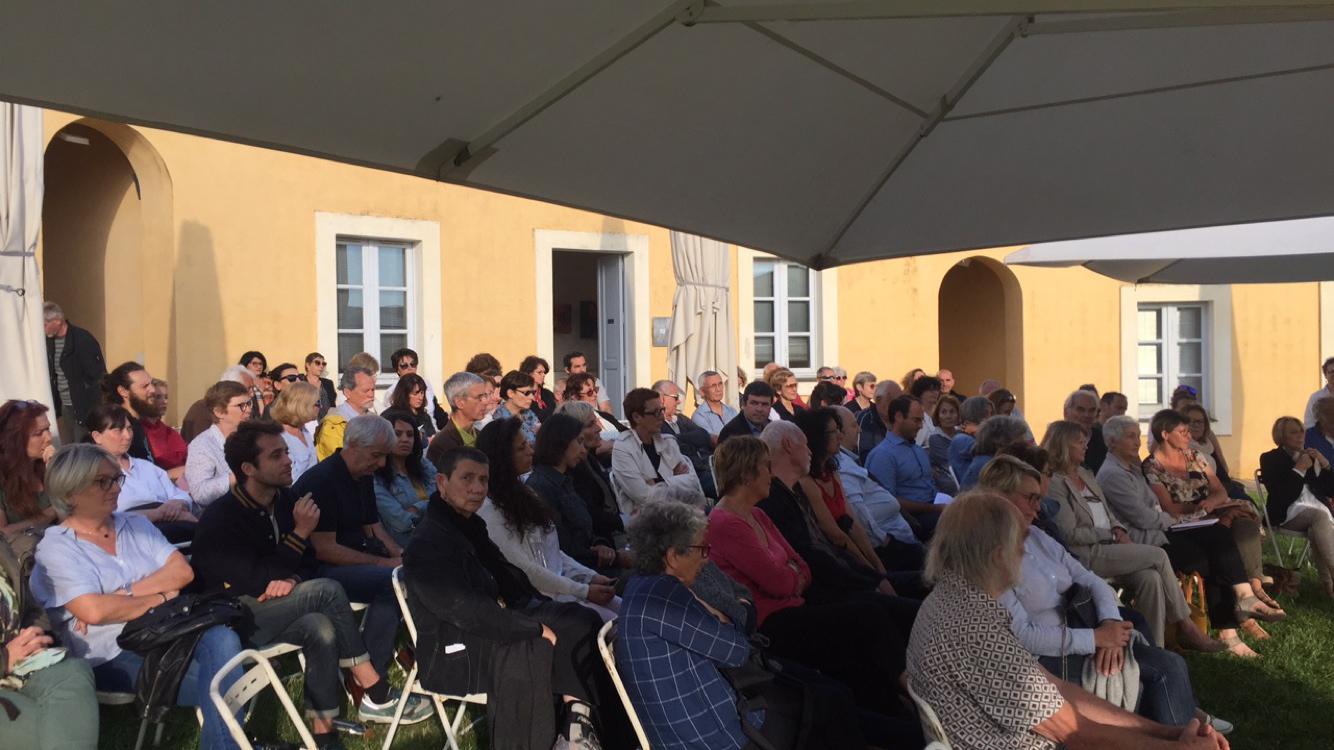 Un public nombreux au Lazaret-Ollandini