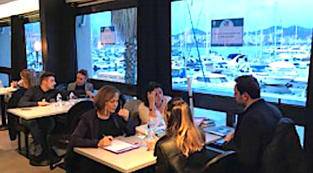 Le 27 mars dernier à Ajaccio, 8 entreprises à la rencontre de 70 candidats