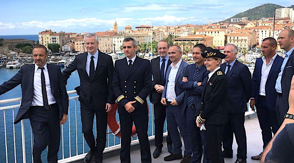 """A bord du """"Vizzavona"""" : «Je crois dans  la Corse et dans les entrepreneurs corses»"""