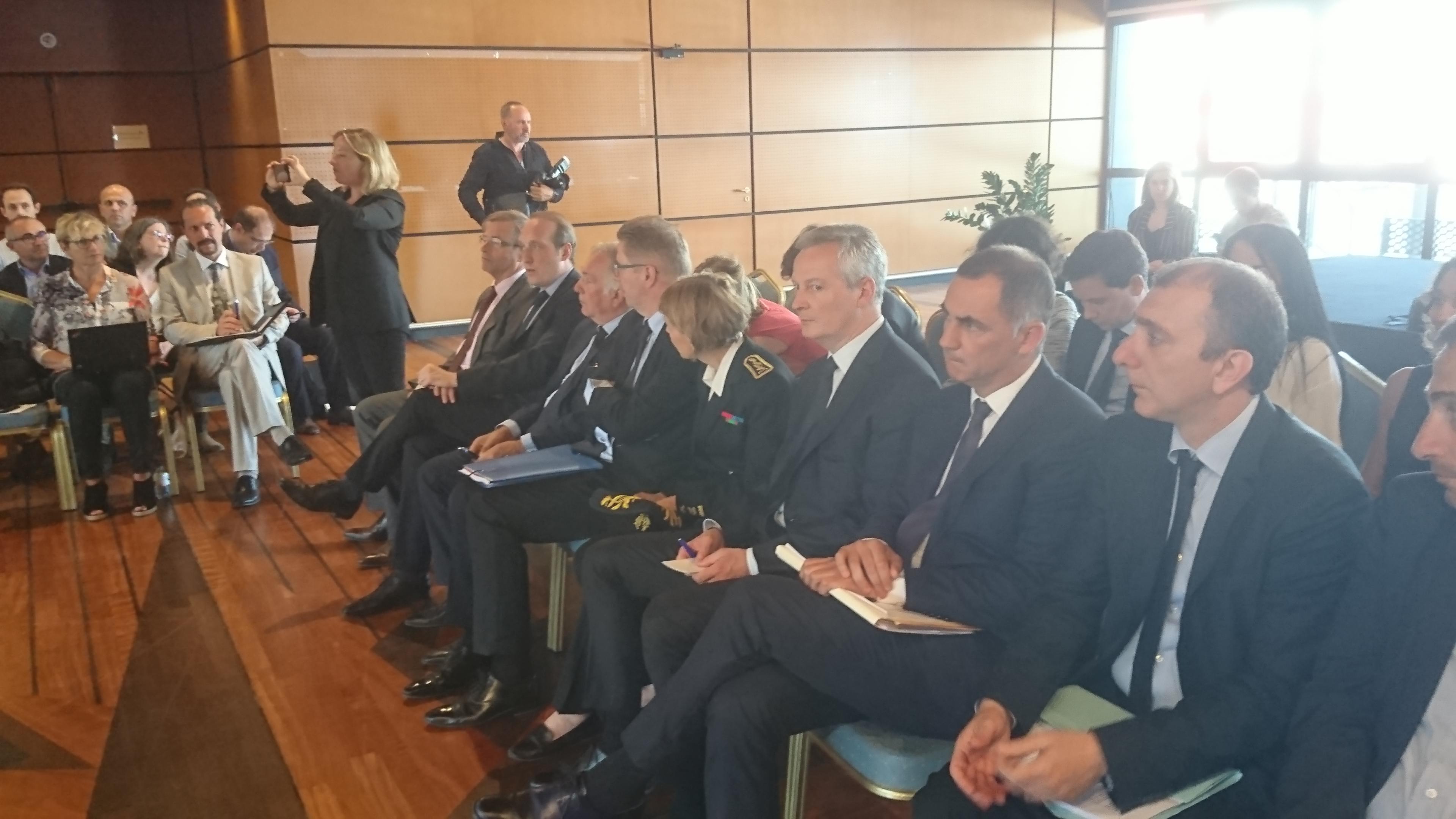 Le dialogue aura été franc et public entre Bruno Le Maire et Gilles Simeoni.