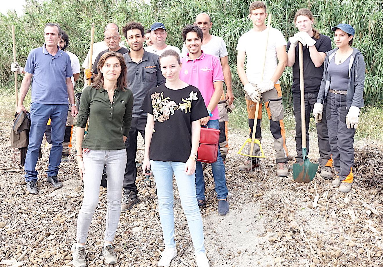 """Développement durable : Les mercredis d'""""Etudes et Chantiers"""" sur la plage de l'Arinella…"""