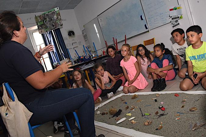 Calvi : Les enfants et la mer…