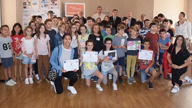 """""""Faites la Une"""" : Les élèves lauréats, reçus au Rectorat  à Ajaccio"""
