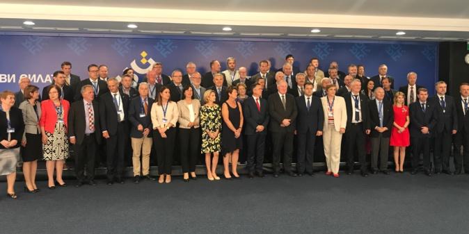 La Commission COTER du Comité des régions réunie à Sofia.