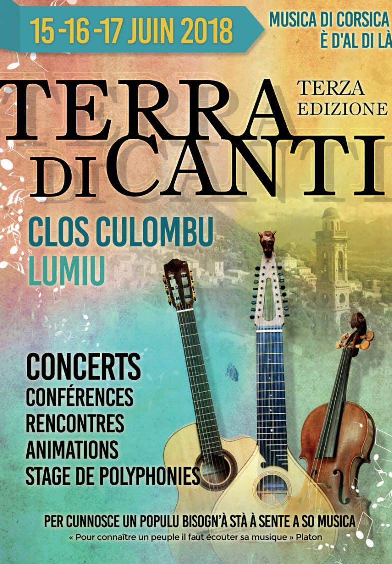 Terra di Canti in Lumiu : Musica di Corsica è d'al di là