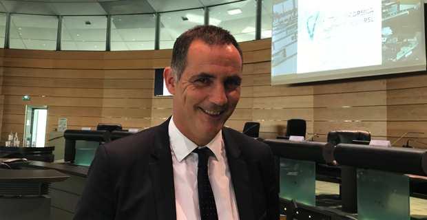 Gilles Simeoni, président de la Chambre des territoires.