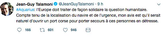 Migrants : Quand Jean-Guy Talamoni et Gilles Simeoni proposent d'accueillir l'Acquarius