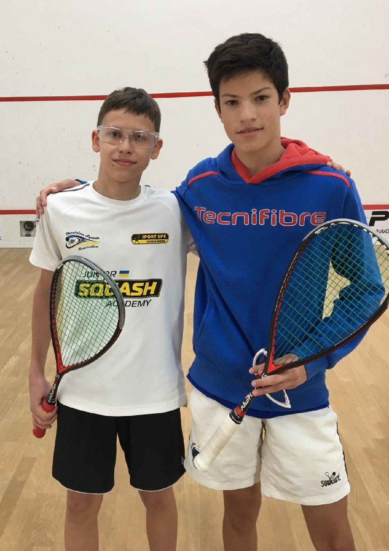 Squash : L'île-roussien Antonin Romieu remporte l'Italian Open European Junior