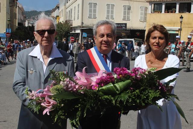 Cérémonie à Calvi pour le 78e anniversaire de l'Appel du Général de Gaulle