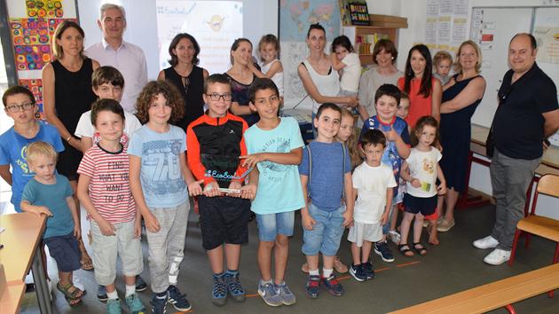 Le label Eco Scola remis à la classe unique de l'école primaire de Peri