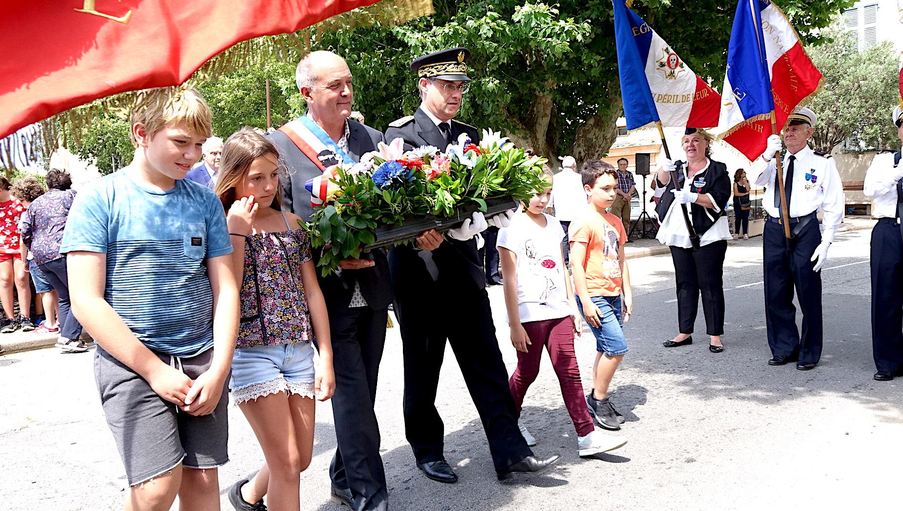Olmeta-di-Tuda a rendu hommage à Jean Casale, l'As de la Grande Guerre