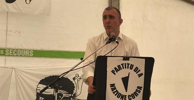 Jean Christophe Angelini, secrétaire général du PNC.