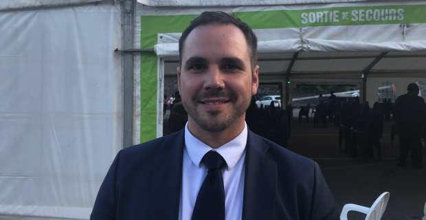 Roccu Garoby, Vice président de l'Alliance Libre européenne (ALE) jeune et membre du comité français de Régions & Peuples solidaires (R&PS), candidat à l'élection européenne qui se tiendra le 26 mai 2019 en France.