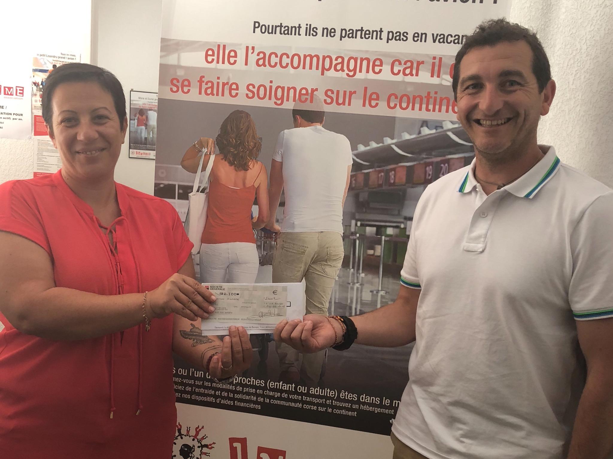 Chjassi di a salute  : 2 230 euros pour Inseme