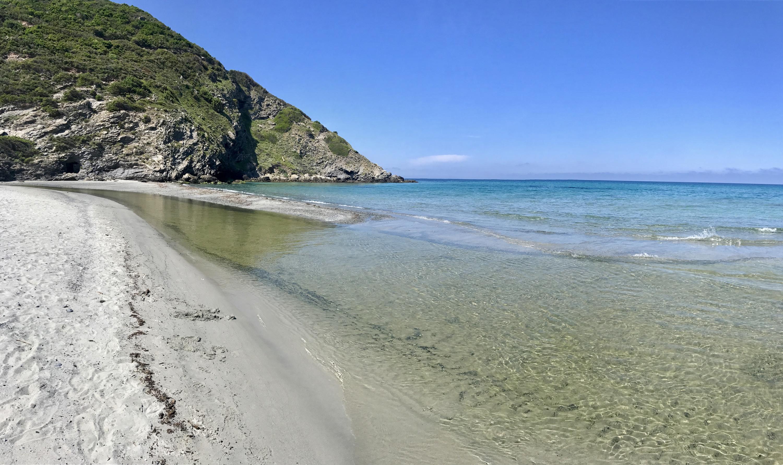 La photo du jour : Sur la plage de l'Ostriconi avant la cohue estivale