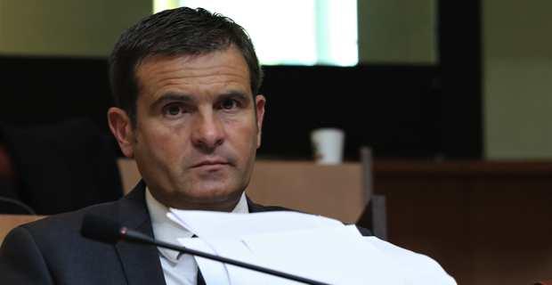 Jean-Martin Mondoloni, président du groupe Per l'Avvene à l'Assemblée de Corse. Crédit photo M.L.