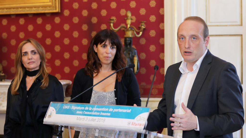 Convention de Partenariat : Le Centre Intercommunal d'Action Sociale d'Ajaccio rejoint INSEME