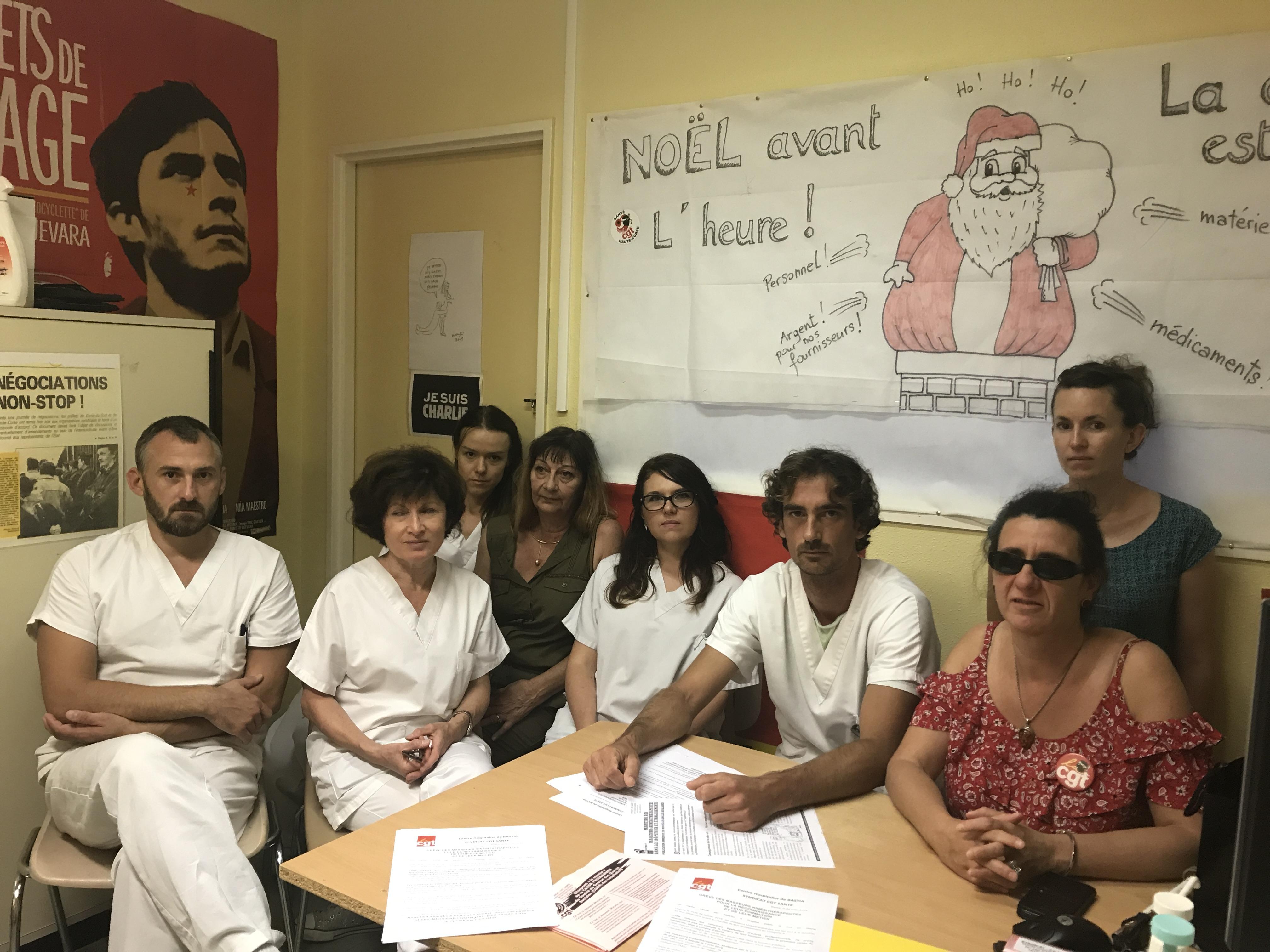 Centre hospitalier de Bastia : Le ras-le-bol des kinésithérapeutes