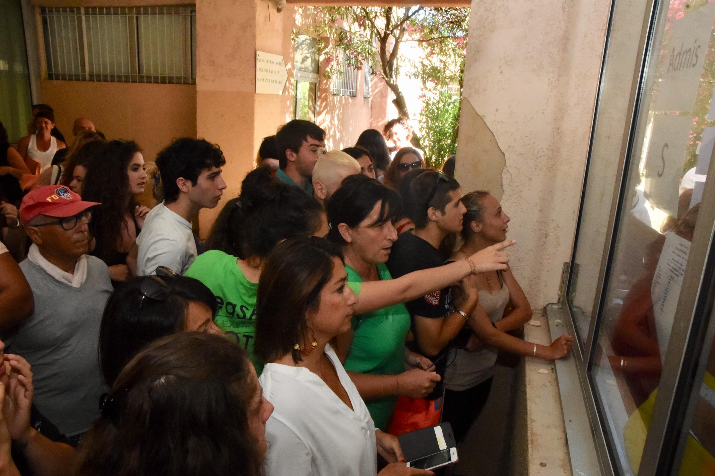 80,1% des élèves du lycée de Balagne reçus au baccalauréat premier groupe