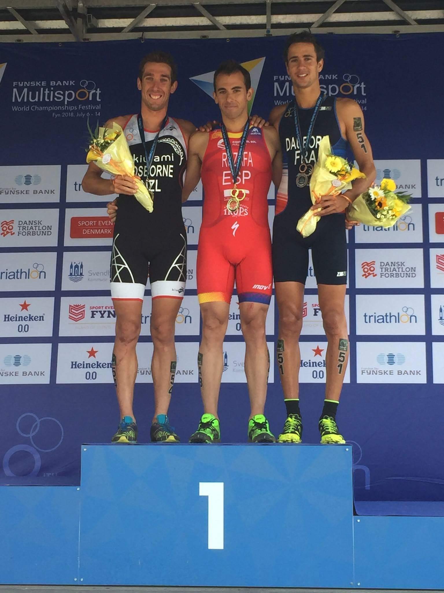Brice Daubord médaille de bronze aux championnats du monde de cross triathlon au Danemark