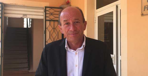 Louis Cesari, président de la Communauté de communes de Fium'Orbu Castellu en Haute-Corse.