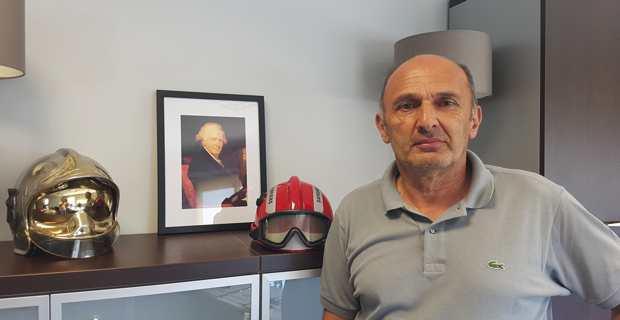 Pierre Poli, président du Service d'incendie et de secours de Corse du Sud (SIS 2A).