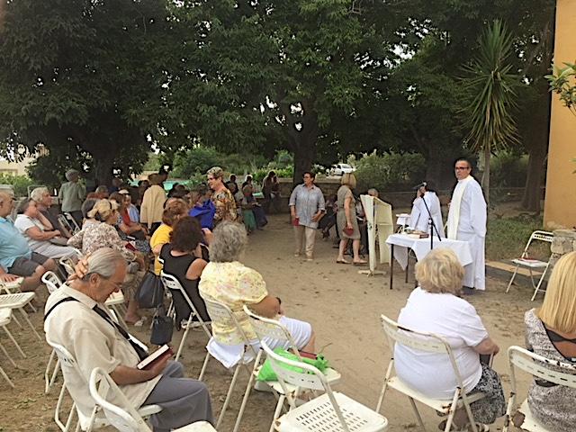 Ajaccio : Notre Dame du Mont Carmel fêtée  à la Chapelle des Grecs