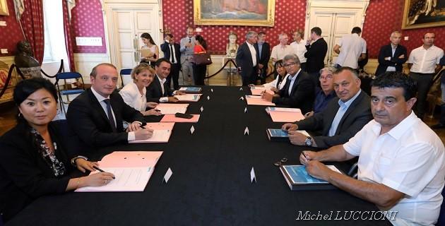 """""""Action Cœur de ville"""" à Ajaccio : La convention signée"""