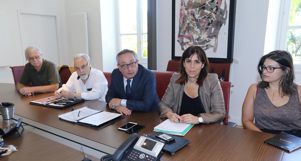 Paul Scaglia et Lætitia Cucchi avec Dominique Baldacci, François Pernin, Stéphanie De Cicco…(Photos M. L)