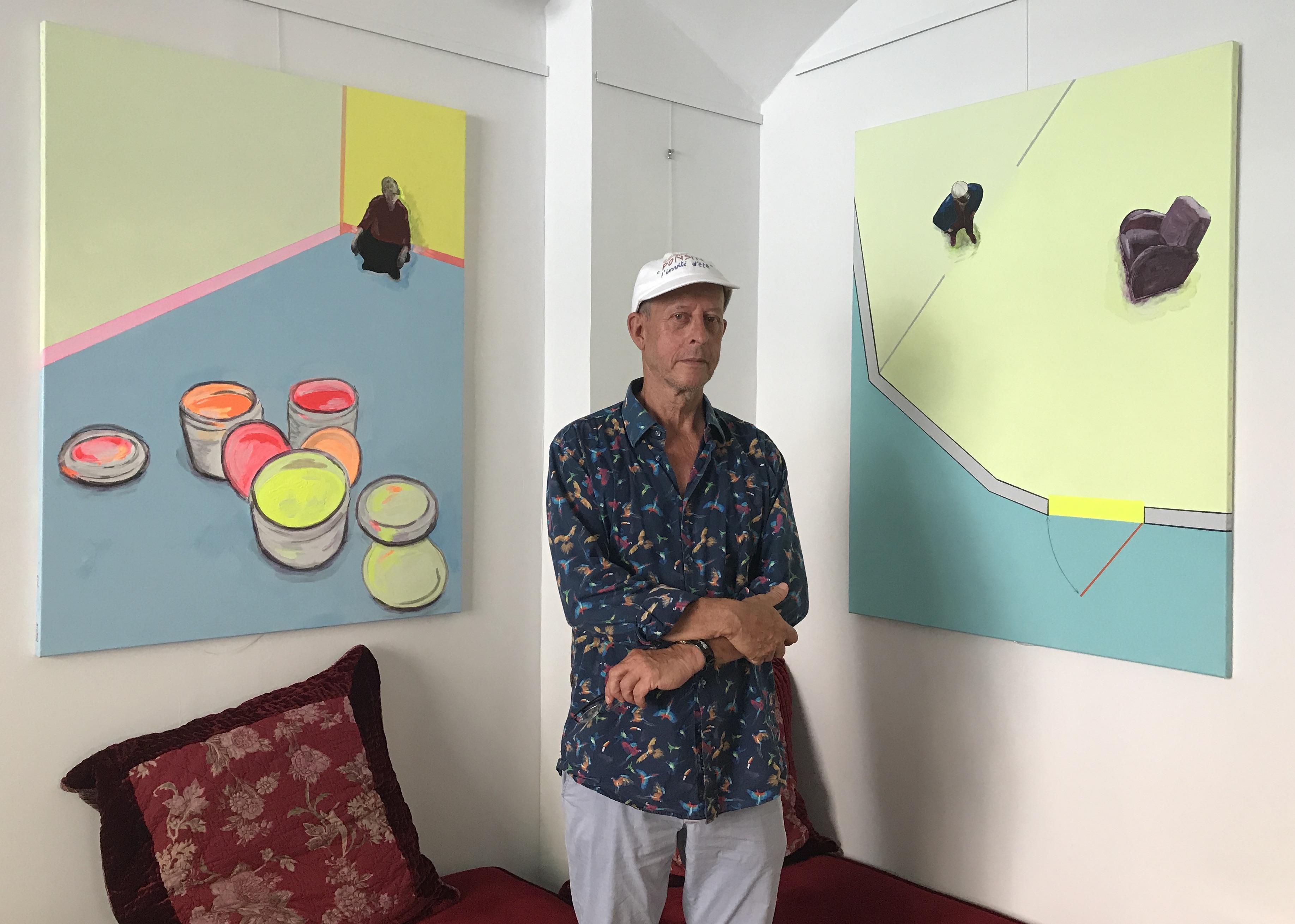 L'artiste d'art contemporain Guillaume Ponsin invité à Bastia pour une exposition inédite en Corse