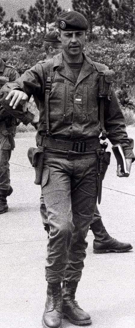 Moncale : Hommage à l'Adjudant-chef Hosteins, un ancien du 2e REP de Calvi