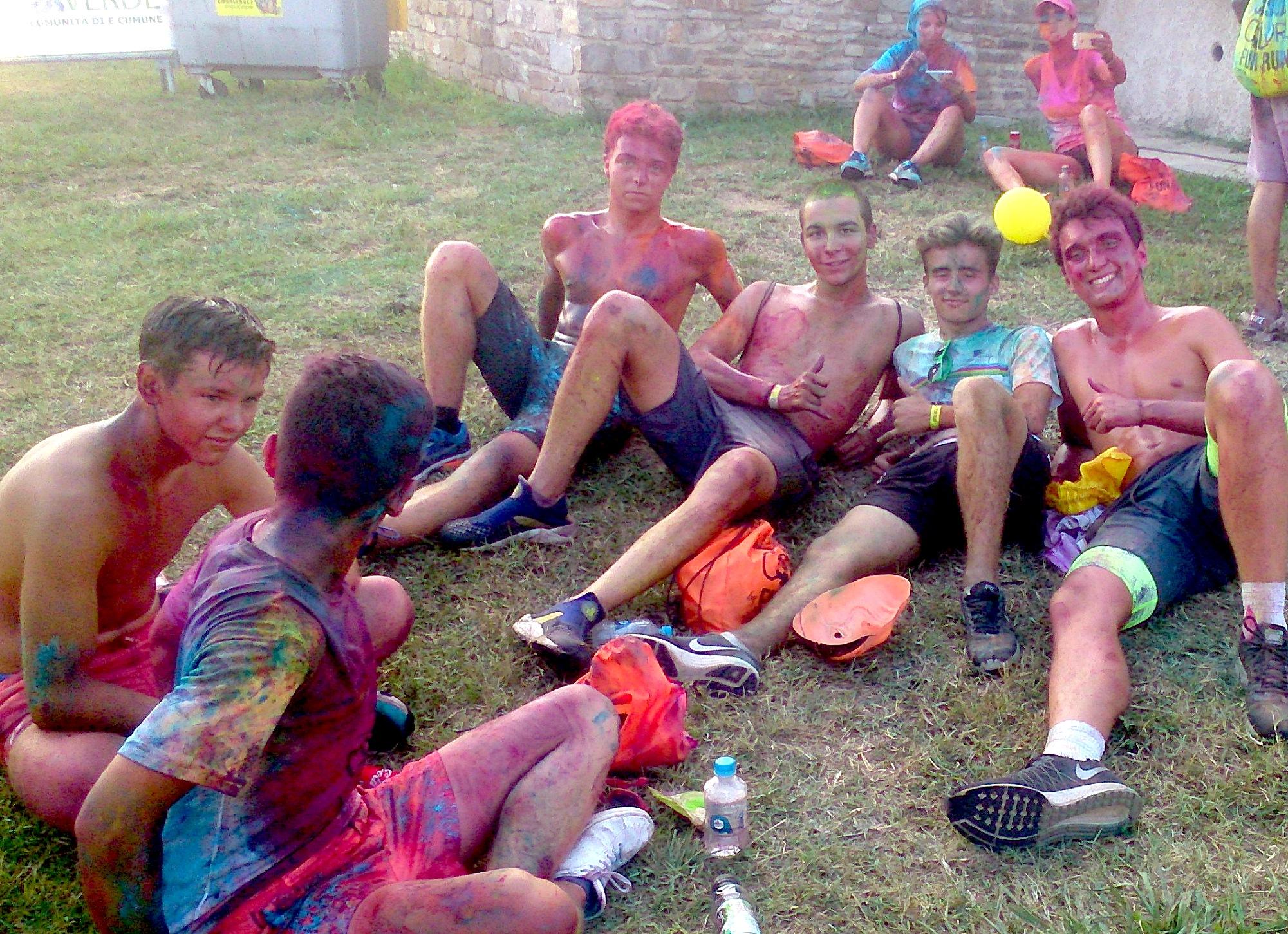 Poggio-Mezzana: Réussite pleine de couleurs pour la 2ème «Corsica color fun run»