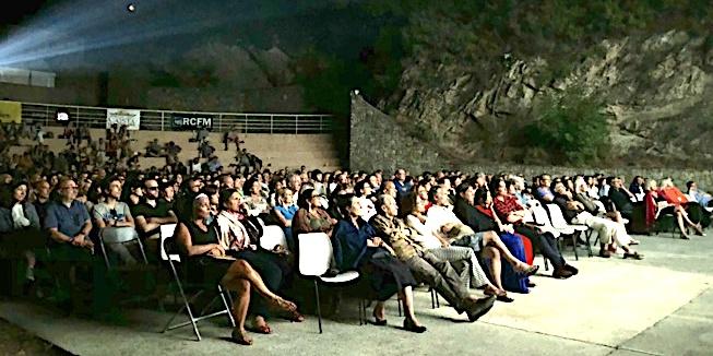 Immense succès pour la soirée corse du Festival du Film de Lama