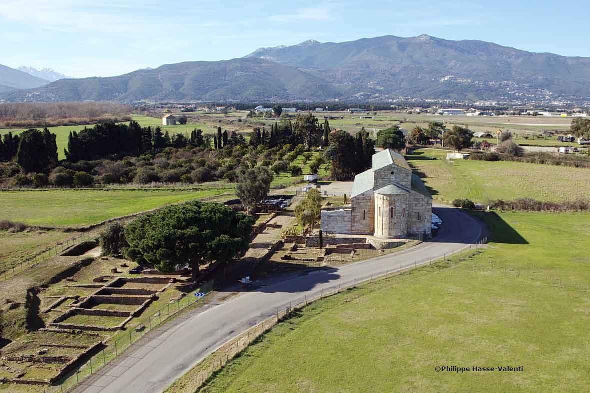 La Canonica et le site romain de Mariana